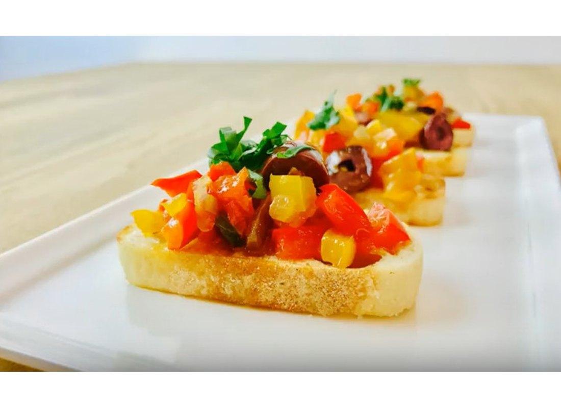 Bruschetta - Red Pepper Kitchen90210
