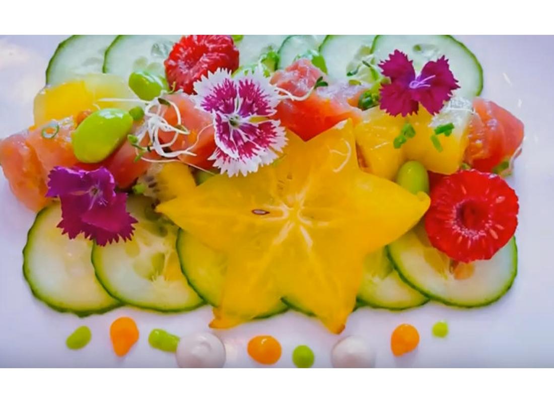 Tuna tartare with a twist - Kitchen90210