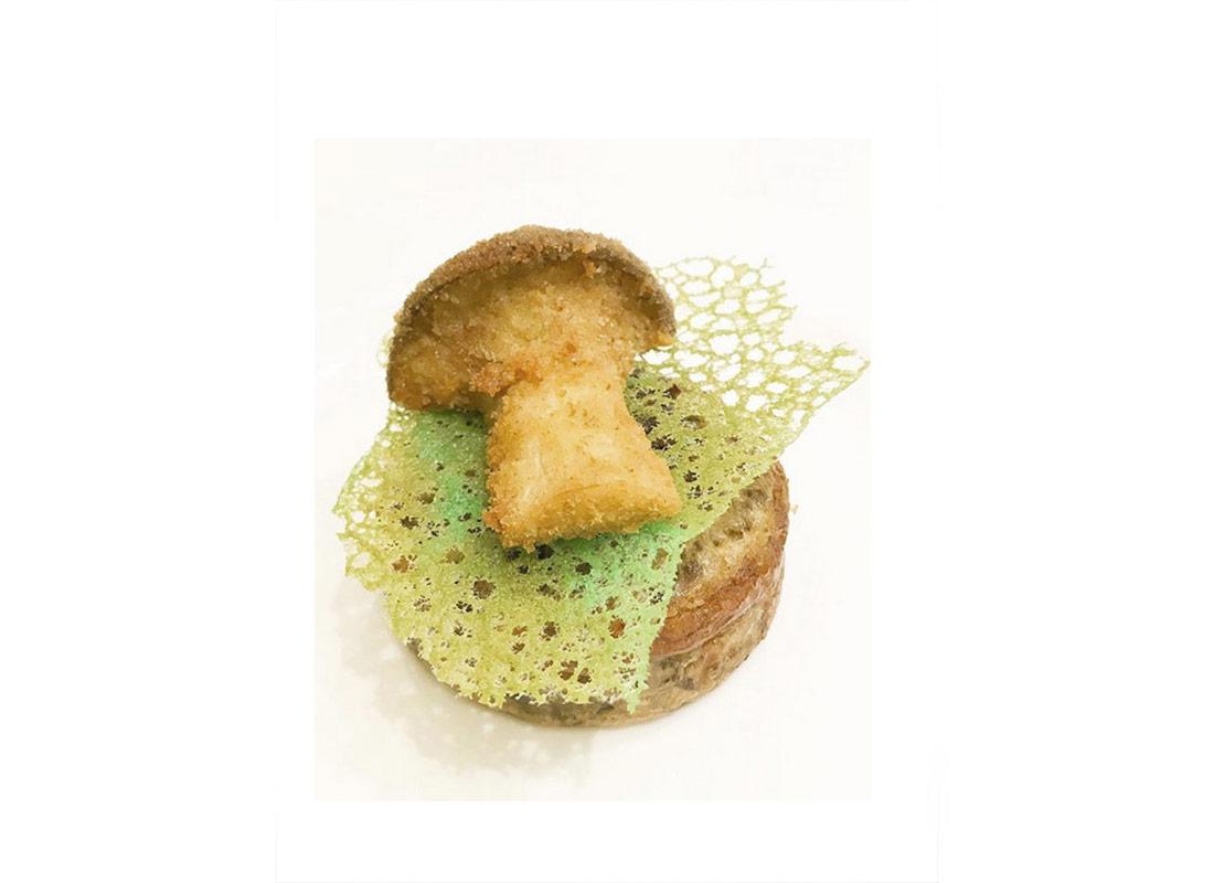 Flour Tuile Coral Garnish - Kitchen90210